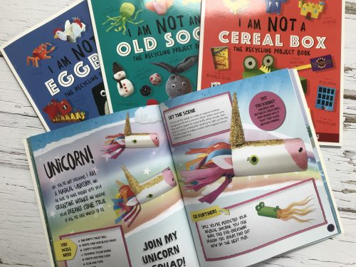 Review: I Am Not A... Craft Activity Books