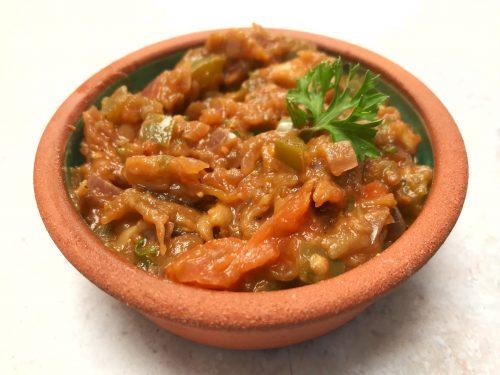 Recipe: Armenian Style Ikra - Aubergine Dip