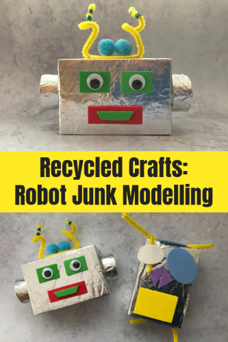 Recycled Crafts: Robot Junk Modelling