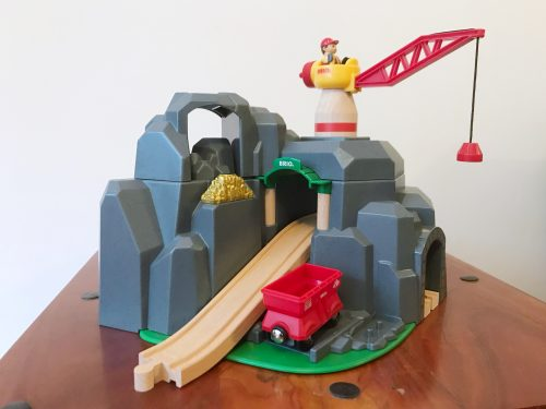 Toy Review: BRIO Crane and Mountain Tunnel