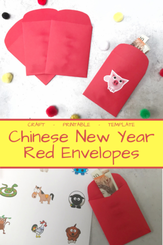 Crafts: Chinese New Year Red Envelopes