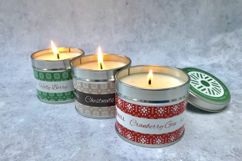 Review: Christmas Candles from Valley Mill