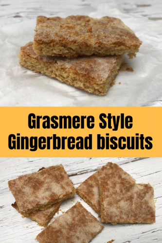 Grasmere Style Gingerbread biscuits
