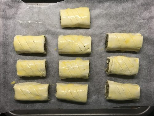 Recipe: Vegetarian Black Pudding Sausage Rolls