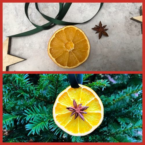 Five Natural Christmas Decorations to make at home