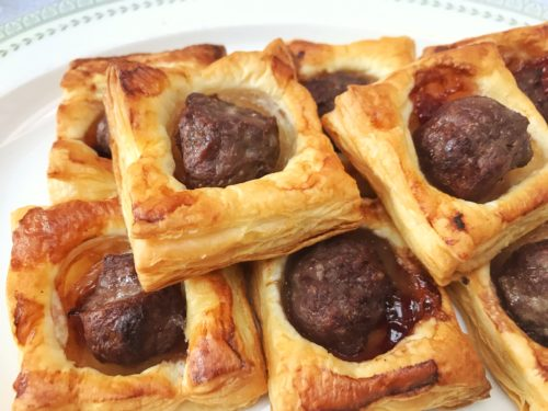 Canapé Recipe: Puff Pastry Sausage Bites