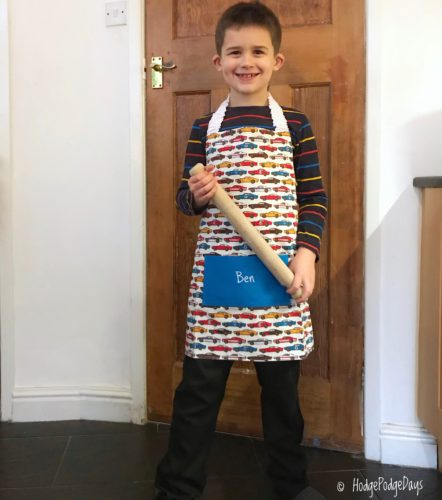Baking in style with Babahoot Personalised Aprons