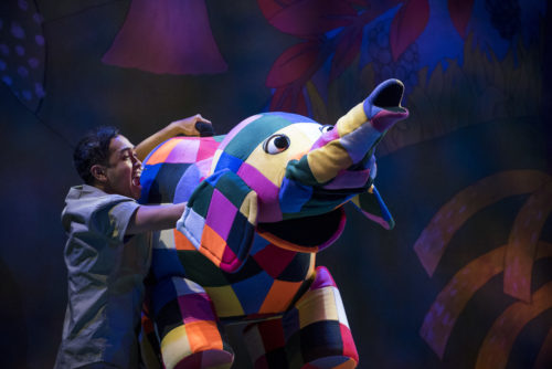 Review: Elmer The Patchwork Elephant at The Lowry #AD