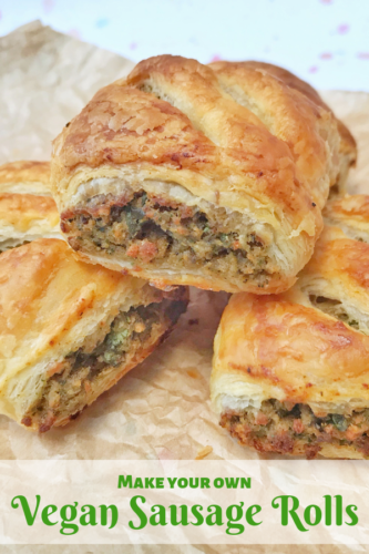 Easy Recipe: Vegan Sausage Rolls