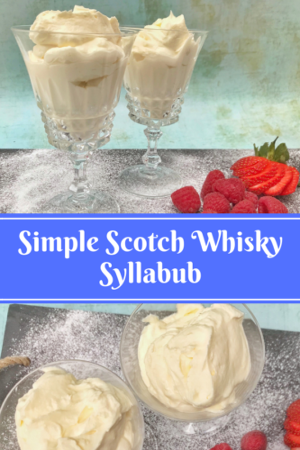 Simple Recipe: Scotch Whisky Syllabub