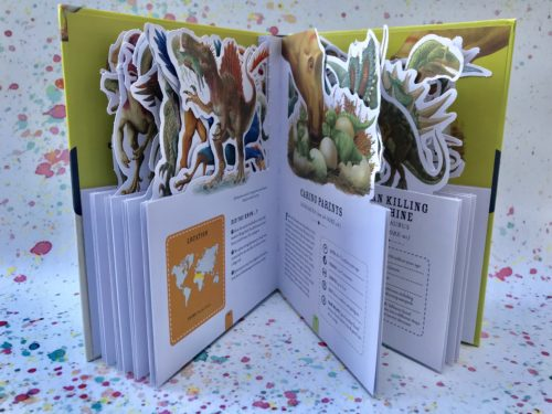 Paperscapes – The Fearsome World of Dinosaurs