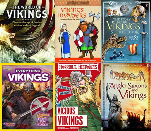 Six Children's Books about Vikings