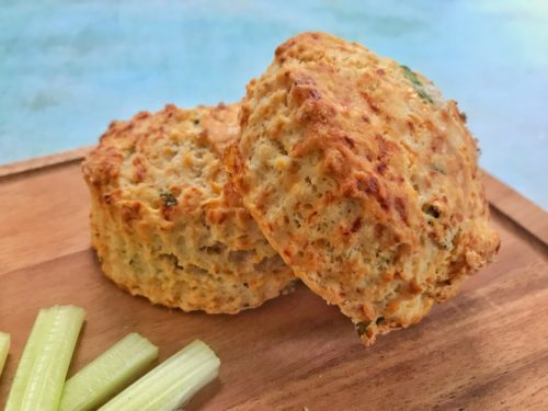 Recipe: Wild Garlic and Parmesan Scones