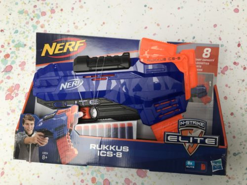 Nerf Review: Nerf N-Strike Elite Rukkus ICS-8
