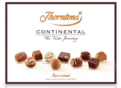 Win a box of Thorntons Continental Chocolates