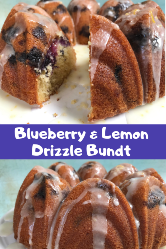 Recipe: Blueberry and Lemon Drizzle Bundt