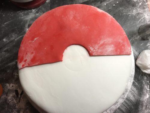 Pokemon Pokeball Birthday Cake
