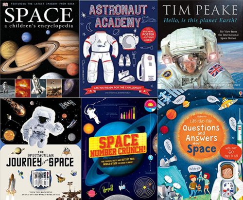Six Out Of This World Books About Space