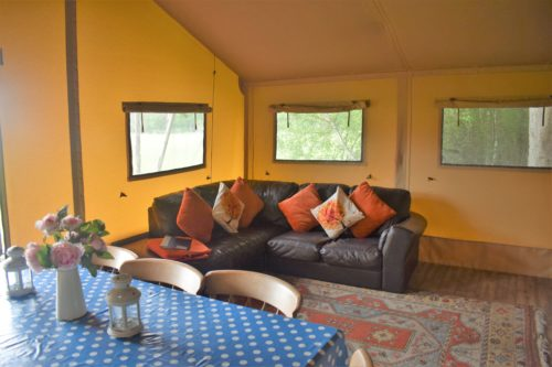 Glamping at Camp Katur, North Yorkshire