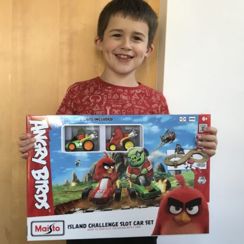 Toy Review: Angry Birds Island Challenge Racing Car Set