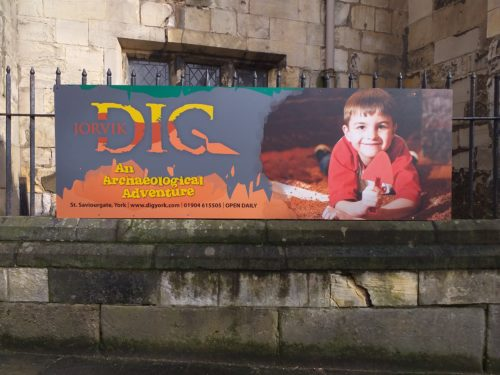 Days Out: Visiting Jorvik DIG, York