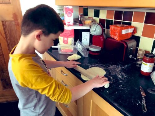 Cooking with Kids: Quick Herby Flatbreads