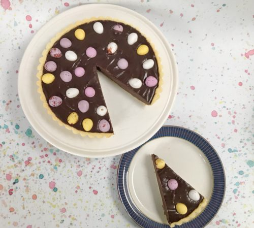 Recipe: Easy Easter Chocolate Tart