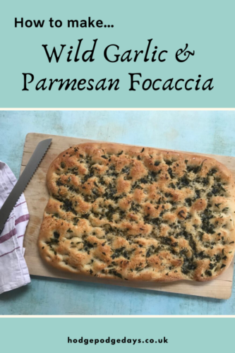 Recipe: Wild Garlic and Parmesan Focaccia
