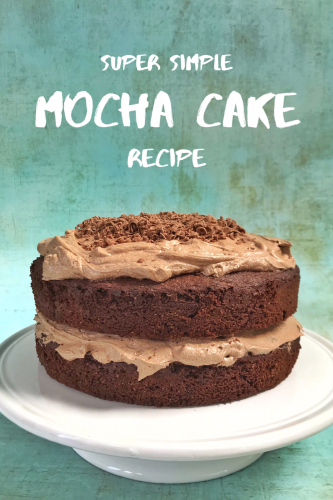 Recipe: Really Simple Mocha Cake
