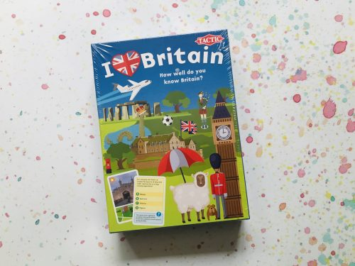 Board Game Review: I love Britain from Tactic Games