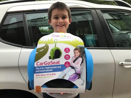 Review: CarGoSeat a booster seat & suitcase for kids