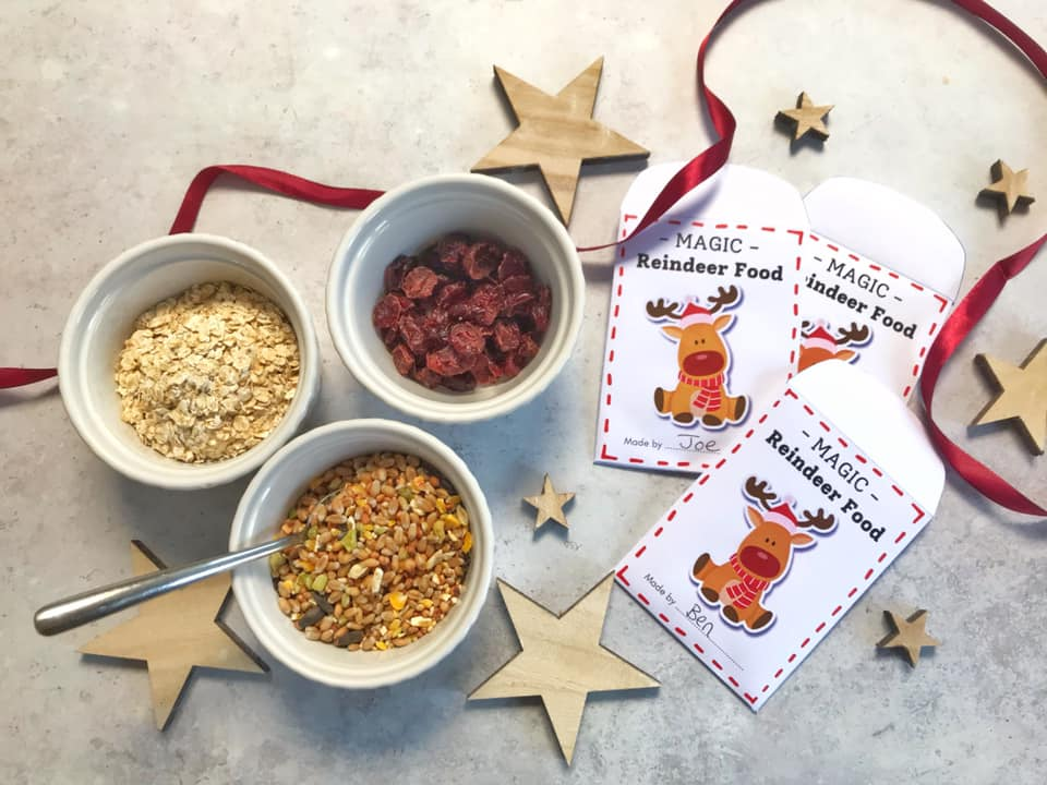 Make your own Wildlife Friendly Magic Reindeer Food with FREE Printable Envelope
