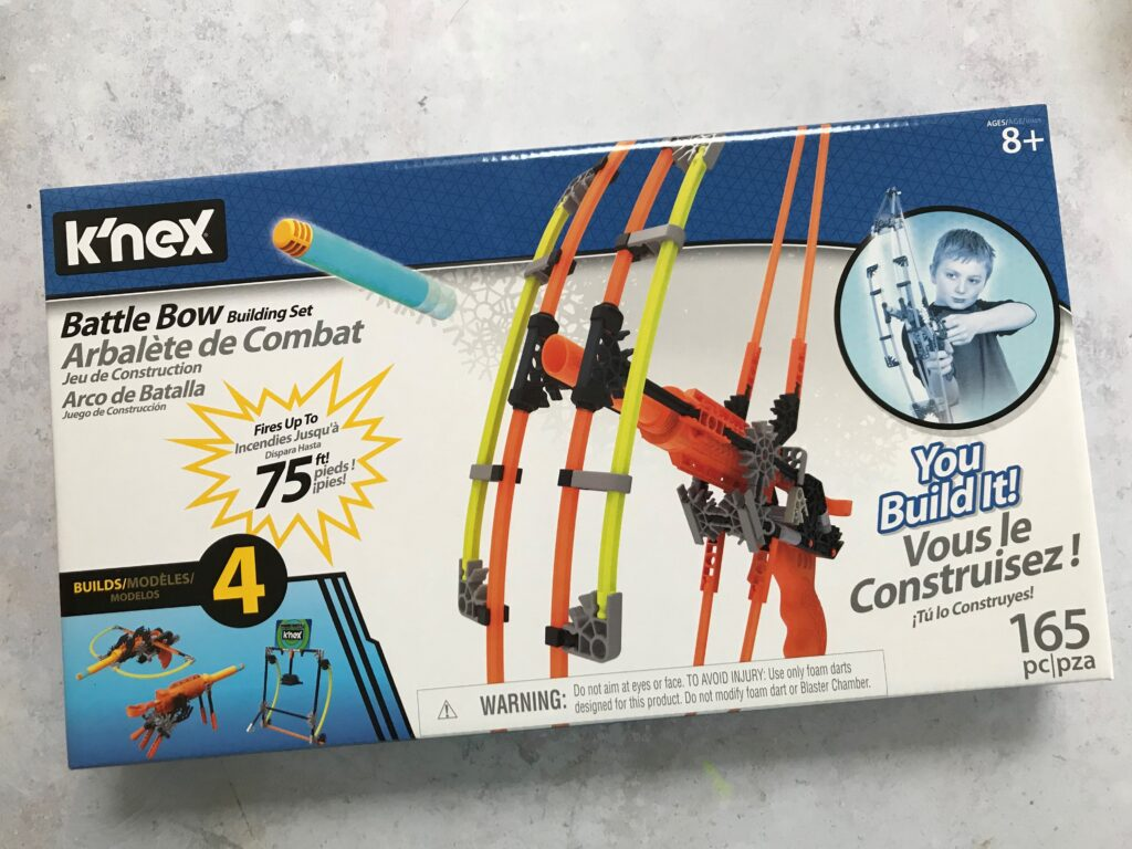 STEM Toy Review: K'Nex creative construction sets