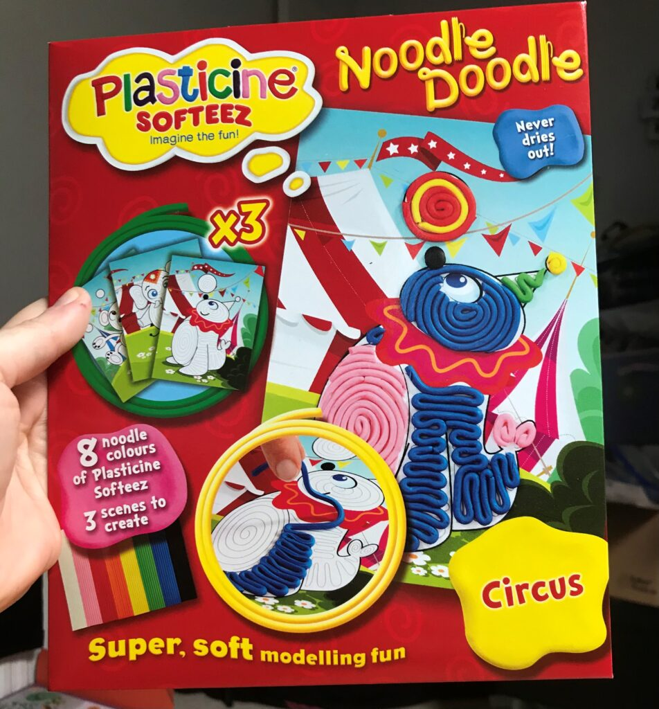 Win A Plasticine Softeez Circus Set