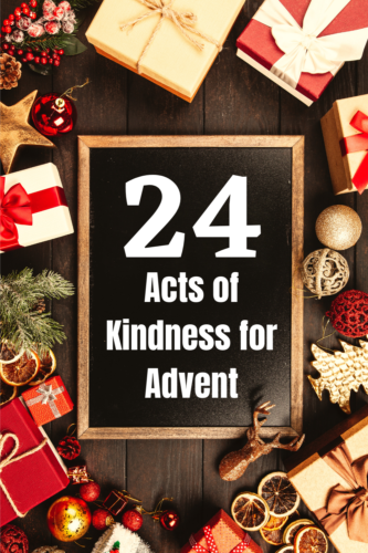 24 Acts of Kindness for Advent
