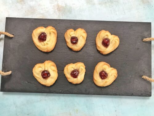 Recipe: Heart Shaped Danish Butter Biscuits