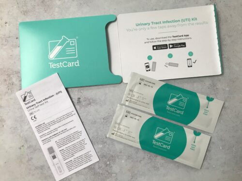 Health: TestCard – the easy home UTI testing kit