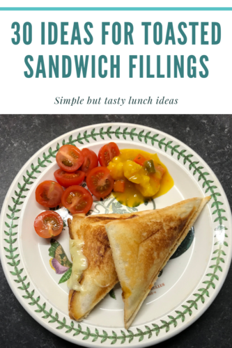 30 tasty ideas for toasted sandwich fillings