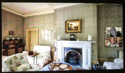 Taking a Zoom tour of Elizabeth Gaskell's House