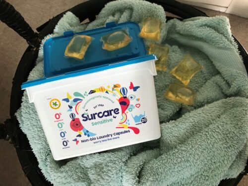 Surcare Laundry Capsules for Sensitive Skin