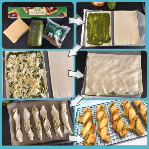Recipe: Cheese and Wild Garlic Pesto Twists
