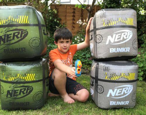 NERF BUNKR Battle Cubes