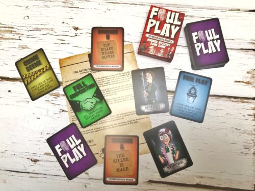 Review: Foul Play Murder Mystery Card Games